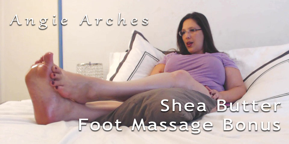 Shea Butter Foot Massage – Bonus Content