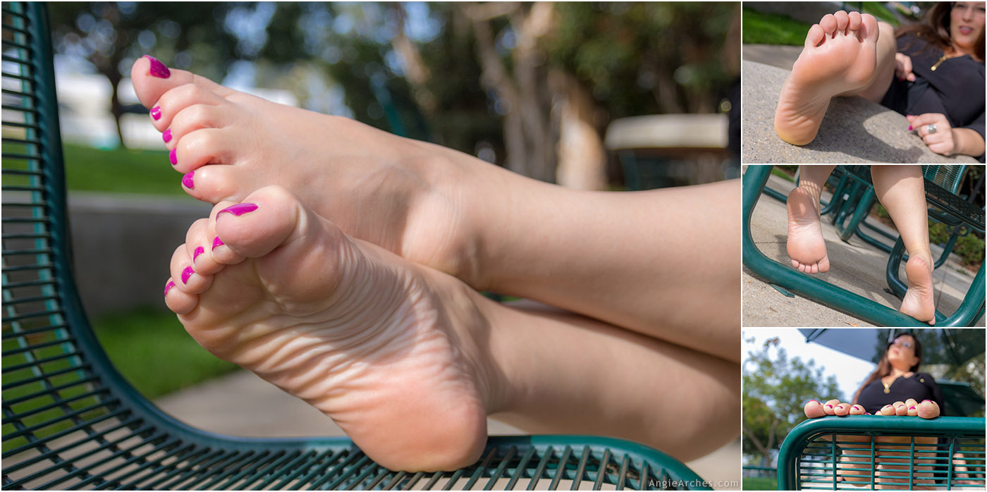 Sunny Afternoon Toes