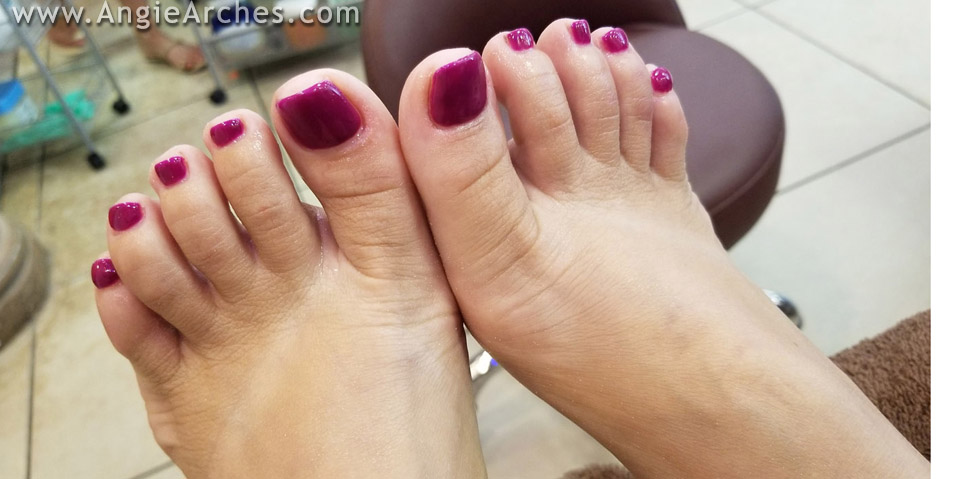 I Just Got a Pedicure – Blog Post